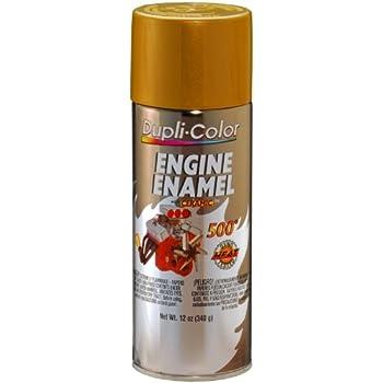 Amazon.com: Dupli-Color DE1604 Ceramic Universal Gold Engine Paint ...