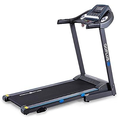 Goplus 2.25HP Folding Electric Treadmill Running Jogging Fitness Machine Home Gym