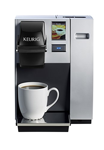 Keurig K150 Single Cup Commercial K-Cup Pod Coffee Maker, Silver(Direct plumb kit...