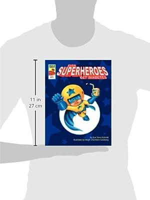 Even Superheroes Get Diabetes (Insulin Comics)                         (Paperback)