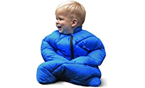 Morrison Outdoors Little Mo 40 Baby Sleeping Bag (Blazing Blue)