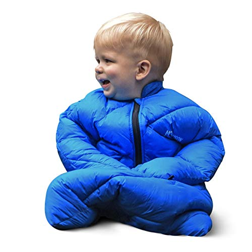 🥇 Morrison Outdoors Little Mo 40° Baby Sleeping Bag with Adjustable Open-and-Close Cuffs