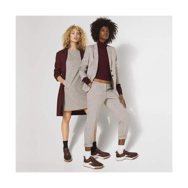 ESPRIT Dots & Stars 2-Pack Chaussettes Femme Coton Blanc Noir Plus De Couleurs Renforcées Motif Fantaisie Lot De 2…