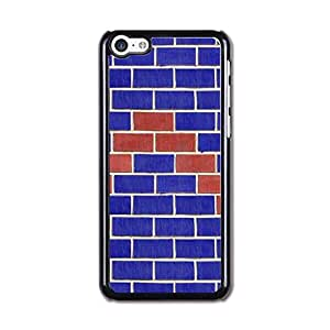 Apple Iphone 5c Cases, Cateyes Hard Cover Case For Iphone 5c - Blue Zigzag Pattern