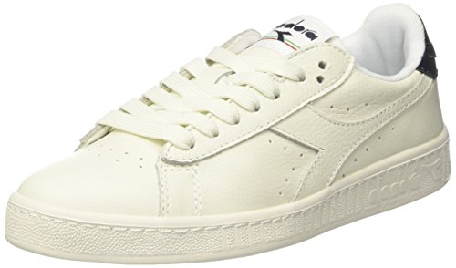 Adulte L Diadora Mirror Low Blanc Game Mixte Estate Basses blu Sneaker HAwH0q