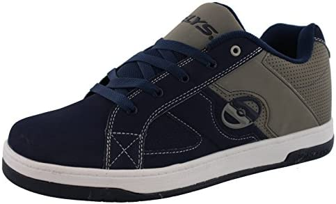 Heelys Men s Split Navy Grey Roller Skate Shoes Sneakers