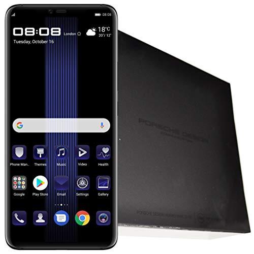 Porsche Design Huawei Mate 20 RS LYA-L29 (256GB Storage | 8GB RAM | Dual-SIM) (GSM Only, No CDMA) Factory Unlocked 4G Smartphone (Black) - International Version