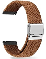 Brown Nylon Strap solo buckle20mm - Suitable for any watch with 20mm Strap width