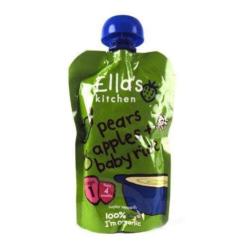(8 PACK) - Ellas/K Pear & Apple Baby Rice - Stage 1| 120 x 7 gx |8 PACK - SUPER SAVER - SAVE MONEY