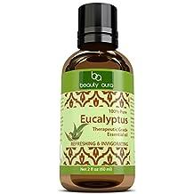 Beauty Aura Pure Essential Oil, Eucalyptus Oil (2 Oz)