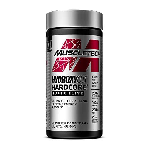 Weight Loss Pills for Women & Men   MuscleTech Hydroxycut Hardcore Super Elite   Advanced Thermogenic Supplement…