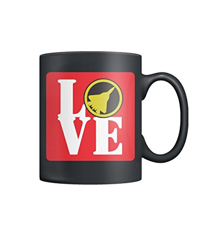 LOVE SU-57 Russia Air Force Military Stealth Fighter Jet Airplane Color Coffee Mug