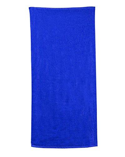 Carmel Towel Company Velour Beach Towel, Royal, One ()