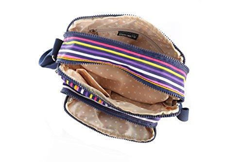 unisex bandolera Stripes mujer bolso Multicoloured Sterling Rye Pxqt4EZZ
