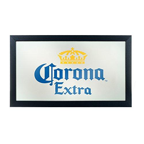Trademark Gameroom Corona Extra Framed Mirror Wall Plaque 15 x 26 Inches - Logo - by Corona