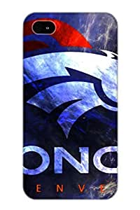 Iphone 4/4s Case, Premium Protective Case With Awesome Look - Denver Broncos(gift For Christmas)