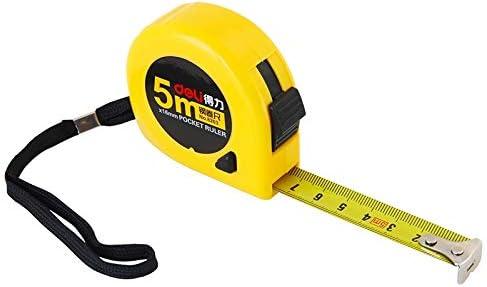 TYBXK Metro a Nastro 2 pc Tape Measure Pull Righello Portachiavi Attrezzi di misurazione Retrattile Righello Strumenti di Misura Portatile Portachiavi Color : Natural