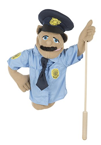 goodman puppet for sale. melissa \u0026 doug police officer puppet with detachable wooden rod for animated gestures: amazon.co.uk: toys games goodman sale