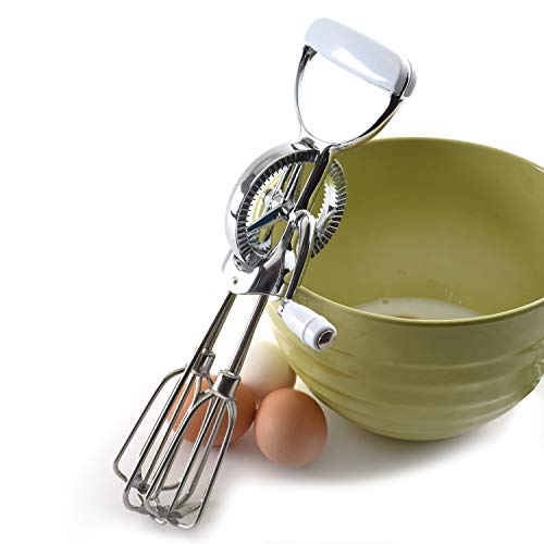 Hand Crank Kitchen Appliances: Norpro Egg Beater Classic Hand Crank Style 18/10 Stainless