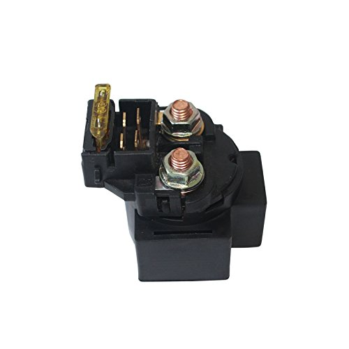 Starter Relay Solenoid Male Plug With Fuse For ATV Dirt Bike Go Kart Gas Scooter Moped