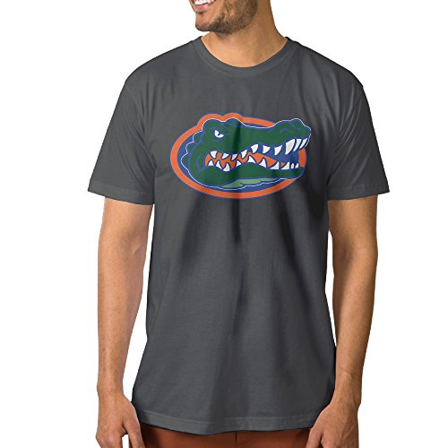 Florida Mascot Golf (NCKG Men's University Of Florida Mascot Short Sleeve T Shirtsi, Color DeepHeatherSize S)