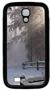 And a Touch Of The Sun Off The Snow TPU Case Cover for Samsung Galaxy S4 and Samsung Galaxy I9500 Black