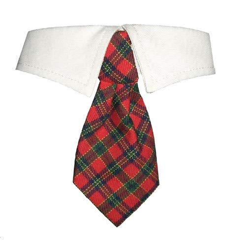 Red Check XXX-Large Red Check XXX-Large Pooch OutFitters Dog Xmas Shirt Collar (3XL) (Red Check)