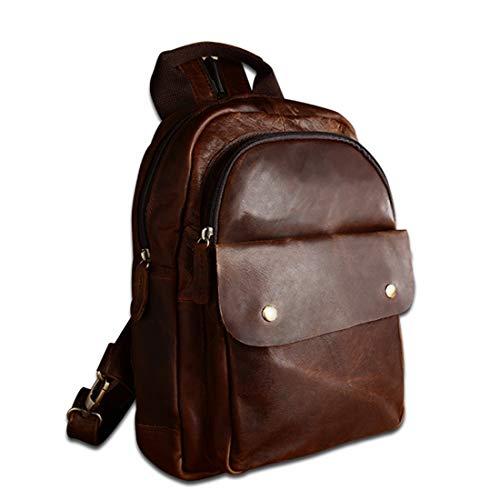 Escuela Ligero Brown2 Antirrobo Brown2 Waveni Cuero Bolso De color Para Mujer Impermeable Mochila nw0pqTOg