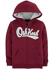 Osh Kosh Boys' Kids Full Zip Logo Hoodie