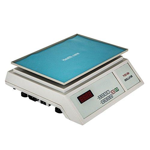 Mophorn Oscillator Orbital Rotator Digital Orbital Shaker Speed Adjustable Lab Oscillator Rotator Biochemical (Shaker Orbital Digital)