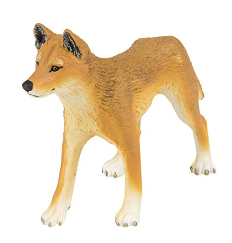 Safari Ltd. Dingo – Realistic Hand Painted Toy Figurine Model – Quality Construction from Phthalate, Lead and BPA Free Materials – For Ages 3 and Up