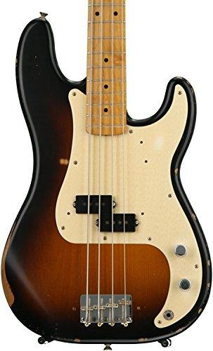 Fender Road Worn '50s Precision Bass, 2 Tone Sunburst, Maple Fretboard