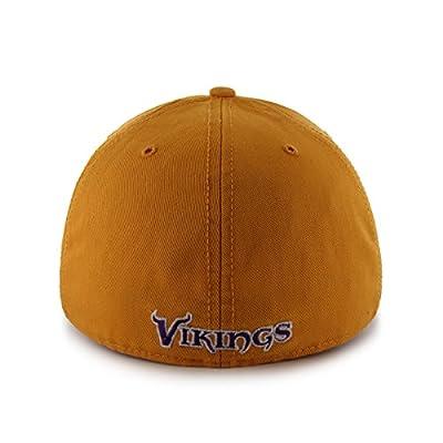 NFL Minnesota Vikings Franchise Fitted Hat, Large, Gold