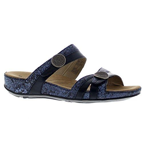 Blue Femme 515 blue Romika Bout 92 Sandales Fidschi Fermé Combi 22 CxXw6Yqv
