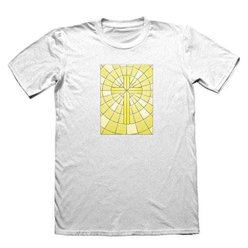 "583 -  T-shirt - Uomo bianco White Medium / 38""-40"""