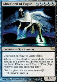 Magic: the Gathering - Ghastlord of Fugue - Shadowmoor - Foil