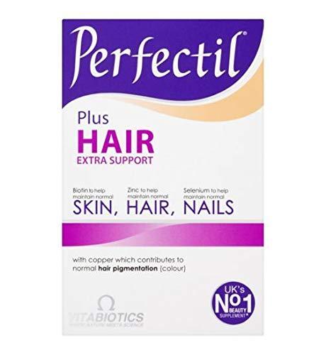 (Vitabiotics Perfectil Plus Hair - 60 Tablets - 2 Pack )