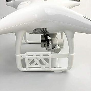 XHUENG 3D Print TK102 Localizador de rastreador GPS Soporte de Montaje Fijo para dji Phantom 4 Accesorios para Drones Accesorios para cuadricópteros (Color: Blanco), Nombre del Color: Blanco