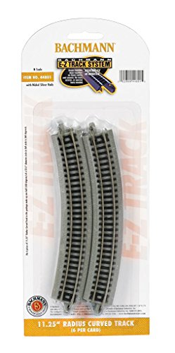 """Bachmann 11.25"""" Radius Curved Track (6/Card) - N Scale for sale  Delivered anywhere in USA"""