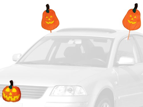 Mystic Industries Pumpkin Halloween Vehicle Costume (Holiday Car Costume)