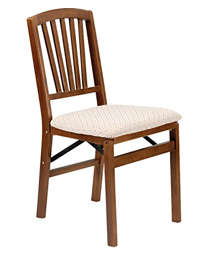 Stakmore Slat Back Folding Chair Finish, Set of 2, Fruitwood by MECO