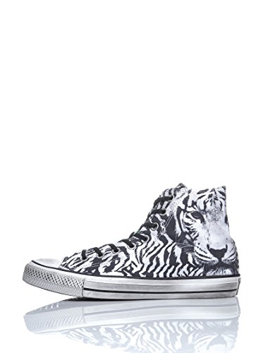 Converse Chuck Taylor Hi Canvas Graphic mixte adulte, toile, sneaker high