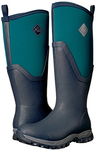 Muck Arctic Tall Wellington pica Sport Pour Ii Bottes Marine Femmes Bleu PgFBqFd