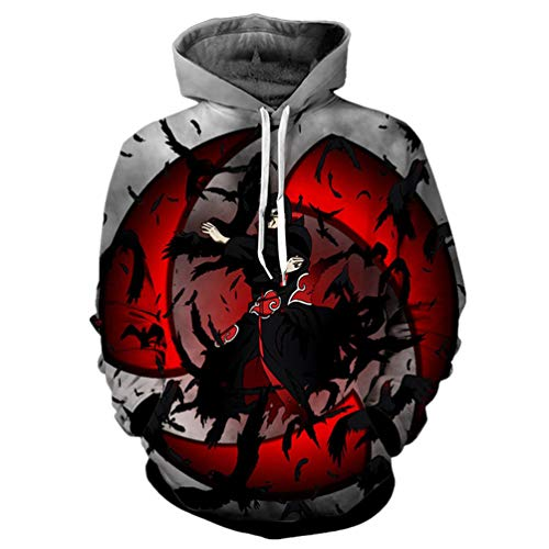 Naruto Casual Hoodie -3D Pullover Clothing