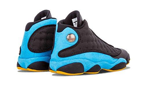 081c2b943cef Nike Mens Air Jordan 13 Retro CP PE Chris Paul Black Sunstone-Orion Blue