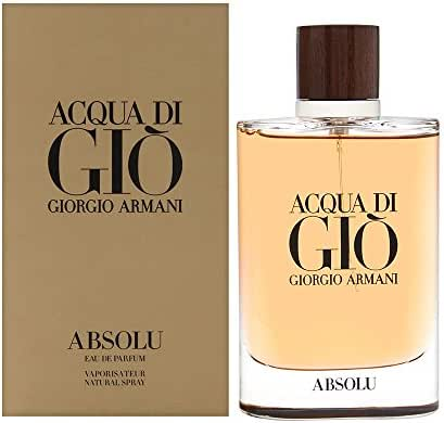 Acqua di Giò Absolu Eau de Parfum Spray, Men, 4.2 Fluid Ounce