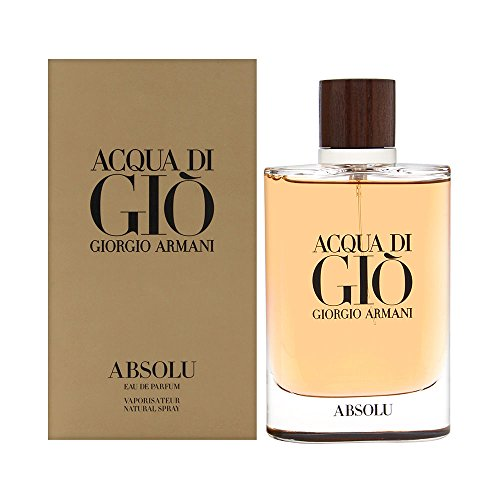 Acqua di Giò Absolu Eau de Parfum Spray, Men, 4.2 Fluid Ounce from GIORGIO ARMANI