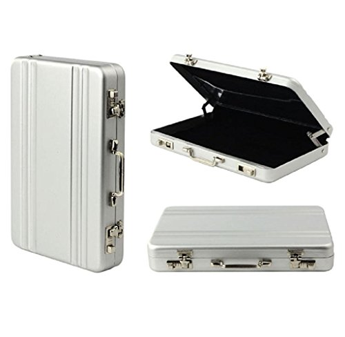Aluminum Business Card Box - 5