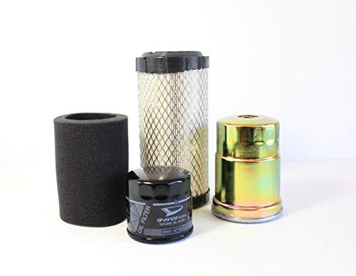 (Kawasaki Diesel Mule 4010 (Years 2011-2013) COMPLETE Filter Kit (Air, Oil, Fuel))