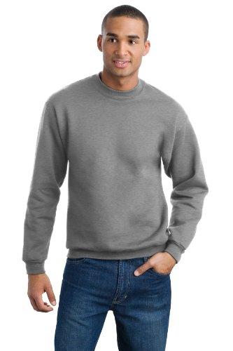 Jerzees Men's Super Sweats Crew Neck Sweatshirt (Crewneck Sweats Super Sweatshirt)